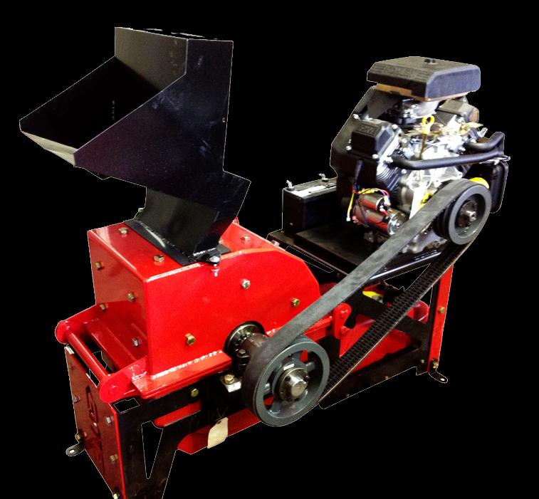 GME14 Hammermill Soil Crusher Machine