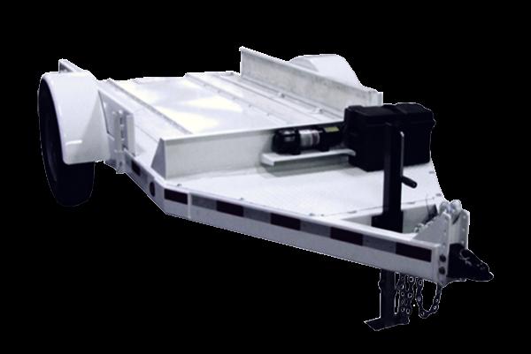 BP714 easy load block press trailer