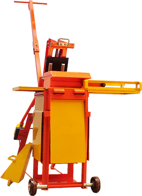 Manual Earth Block Machine