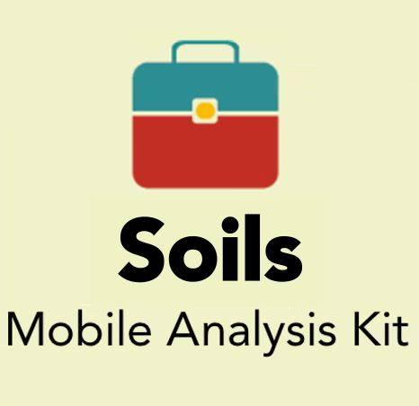 Soils mobile analysis testing kit for earth blocks